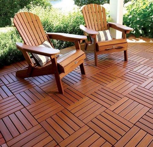 Modular Deck Wooden Decks